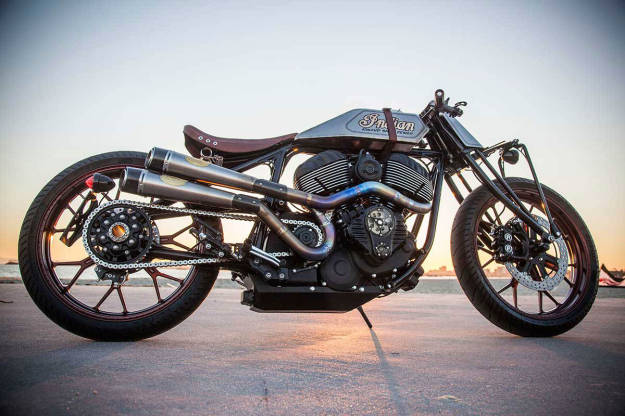 Best custom motorcycle builders: Roland Sands.
