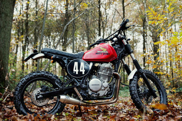 Dirty Sandy: 4h10u0027s Custom Honda Dual Sport