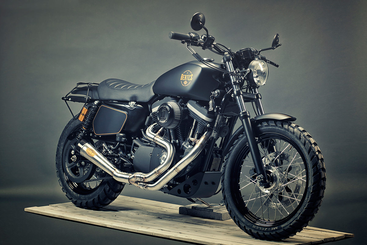 stealthy renard 39 s custom harley 1200 bike exif. Black Bedroom Furniture Sets. Home Design Ideas