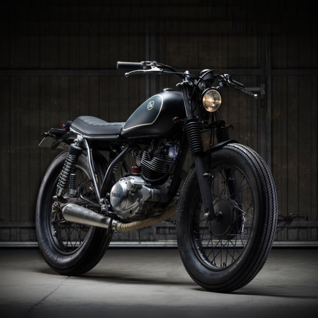 This sweet little Yamaha SR125 is the 56th build from custom motorcycle workshop Cafe Racer Dreams