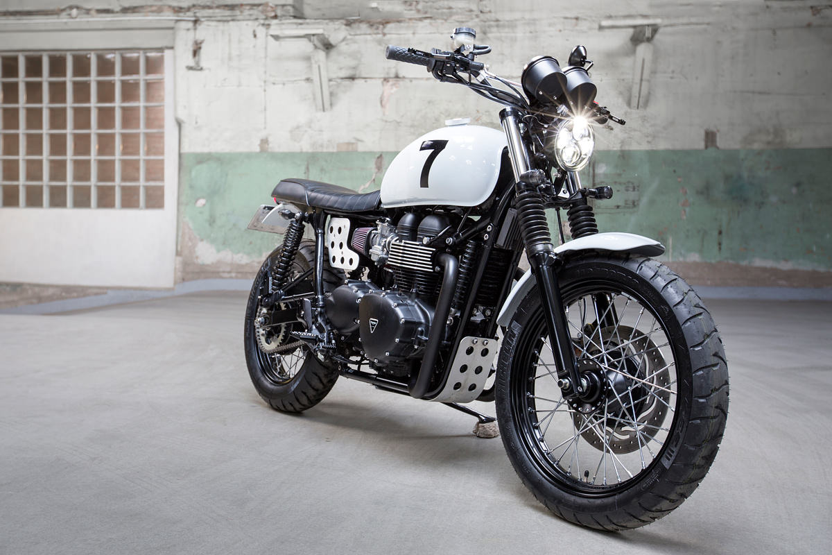 upgrading the triumph scrambler swedish style bike exif. Black Bedroom Furniture Sets. Home Design Ideas