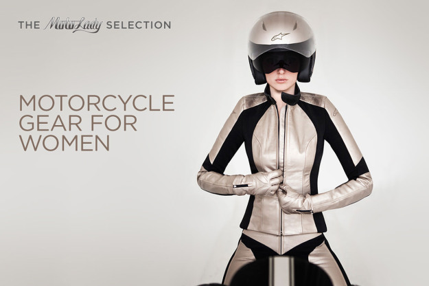 The coolest women's motorcycle gear, chosen by leading moto journalist Alicia Elfving.