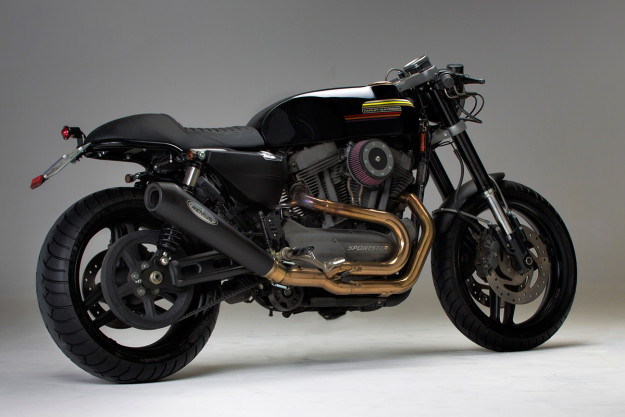 If the Harley XR 1200 had a weak point, it was the styling. This custom from the Spanish workshop CRD fixes it—and then some.