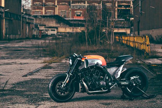Custom Yamaha VMAX built by JvB-moto of Germany.