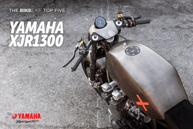 Bike EXIF's Top 5 Yamaha XJR1300 custom motorcycles.