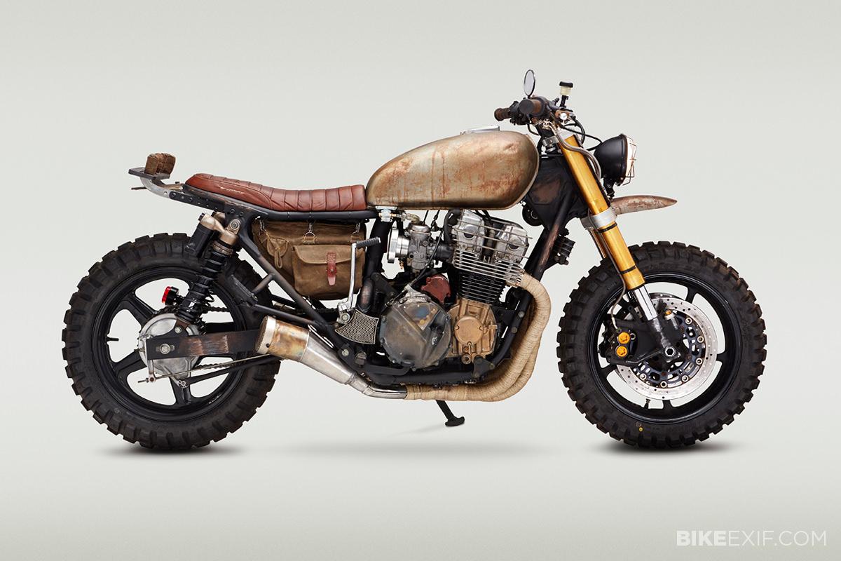 The Walking Dead Daryl Dixon Motorcycle Bike Exif 1992 Honda Shadow Parts Full Size