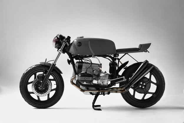 A sleek and stylish custom BMW R65 from Fuel Motorcycles of Spain.