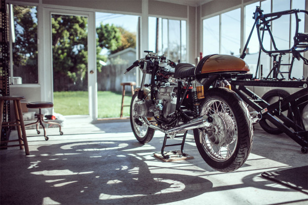 Bavarian Cafe: Brandon Mungai and his passion for BMW motorcycle restoration.