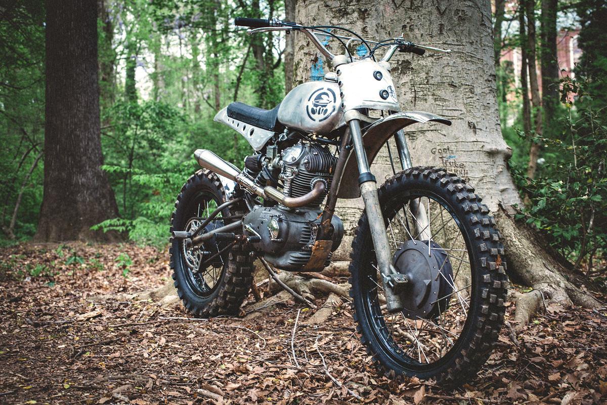 naked speed special: bryan fuller's scrambler | bike exif