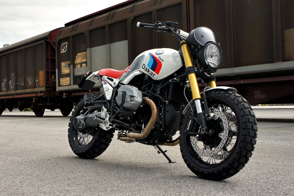 Bmw R Nine T For Sale >> Luis Moto: A BMW R nineT scrambler, Italian Style | Bike EXIF