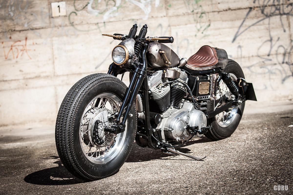 Old Iron: A vintage-style Harley Sportster custom | Bike EXIF
