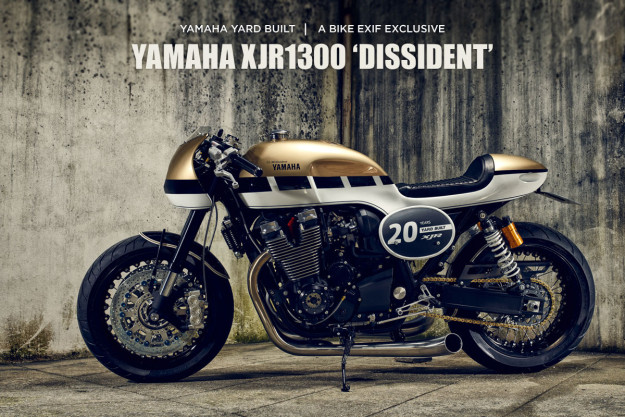 Dissident: a super-streamlined Yamaha XJR1300 from the Portuguese builders It roCkS!bikes.
