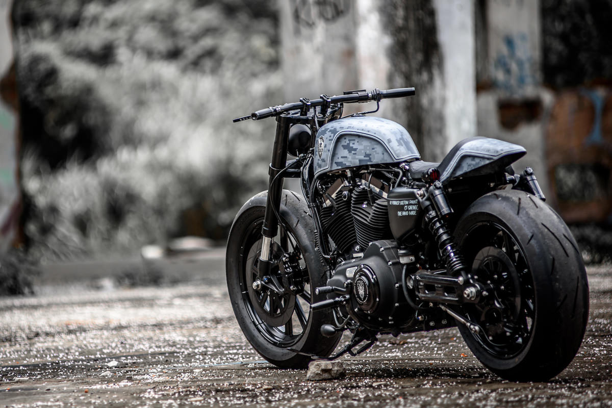 Pixel Perfect Rough Crafts Harley Forty Eight