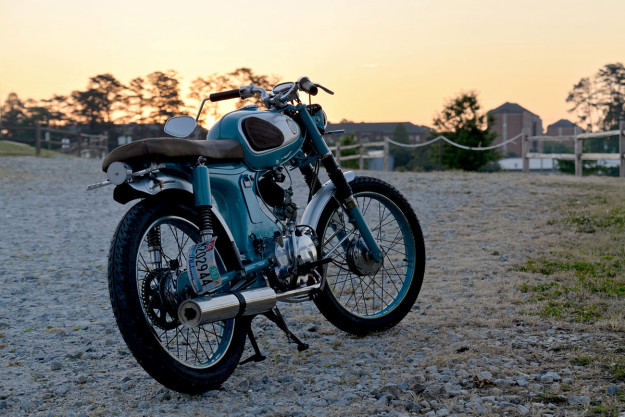 Simon Radomski's immaculate Honda S90—built in his Alabama apartment.