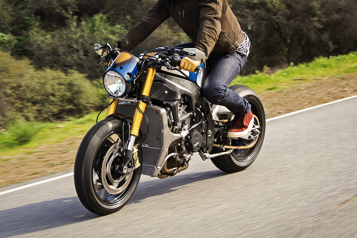 Bmw S1000r Cafe Racer Built For Orlando Bloom By Deus