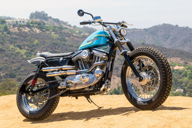 Hollywood Harley A Sportster 883 Dirt Tracker