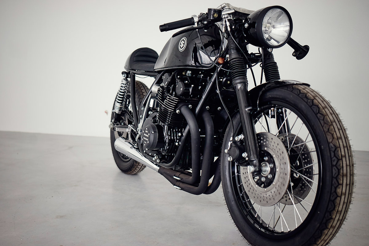 It's a sharp looking alternative to a Honda CB750 custom—and dynamically superior. If Eastern Spirit's fine work throws the spotlight back onto the GS750, ...