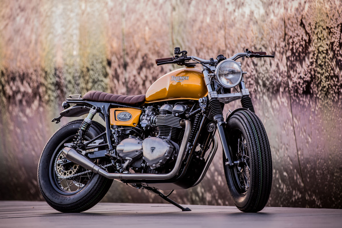 Souvent Down & Out Cafe Racers Triumph Thruxton | Bike EXIF HR18