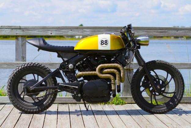 Yamaha XV1 custom by Magnum Opus.