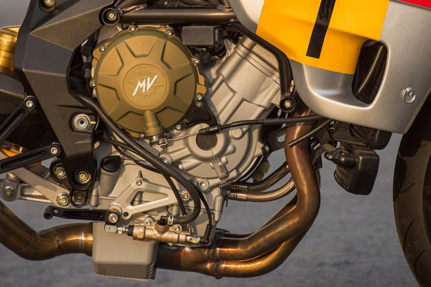 The Walt Siegl Bol d'Or: a modern MV Agusta with a dash of retro style.