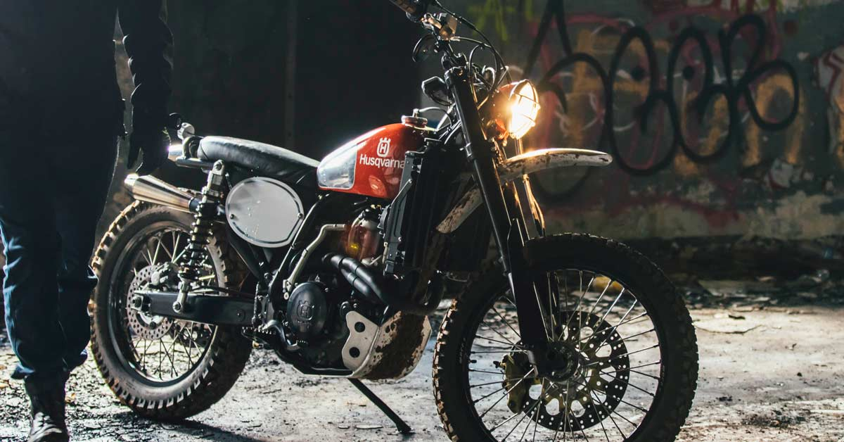 How To Turn A Husqvarna 510 into a vintage-style dirt bike