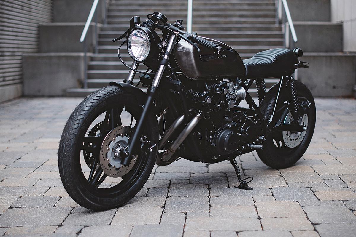 weird and overgeared: a 10-speed honda cb900 | bike exif