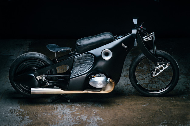 -Artistry in metal: The BMW Landspeeder by Revival Cycles