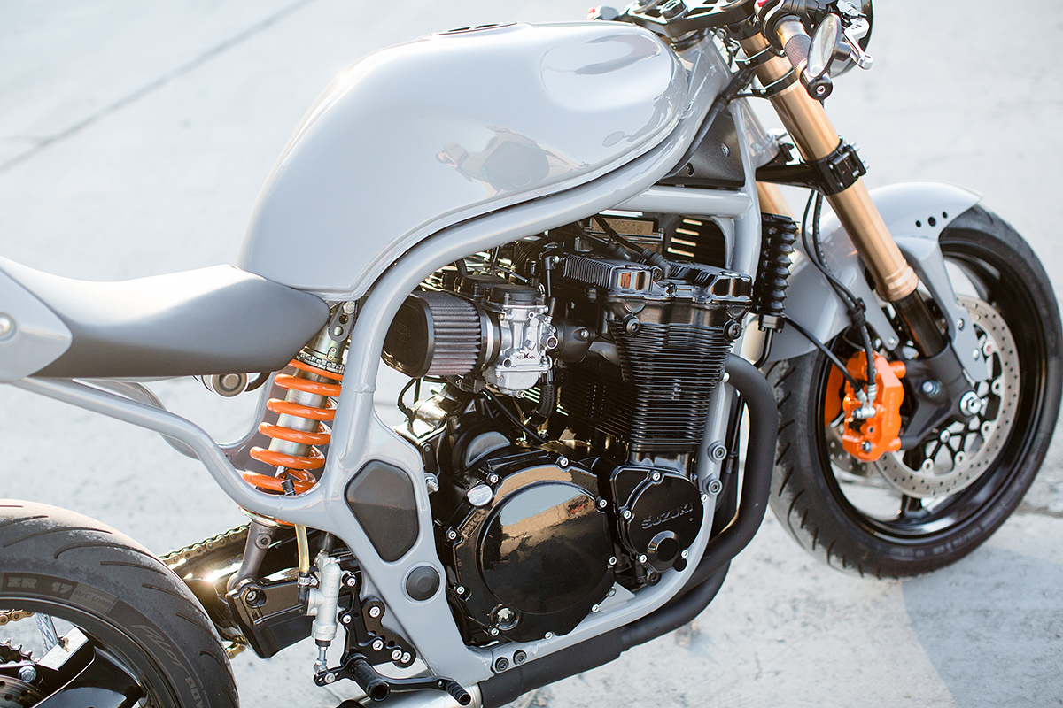 are we ready for a suzuki bandit cafe racer?   bike exif