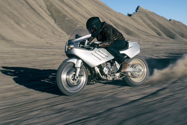 Major Tom: ICON 1000 have turned the Suzuki GSX-R 750 into a nitrous-fueled rocket ship.