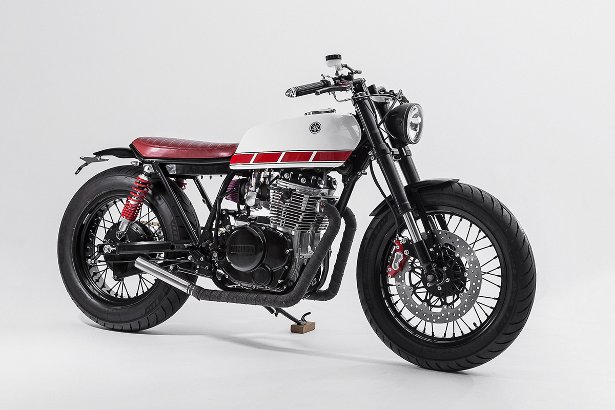 Pocket Rocket: A stunning custom Yamaha XS 400 from the Australian workshop Ellaspede.