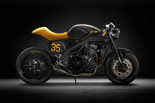 Custom Triumph Speed Triple by Tamás Jakus