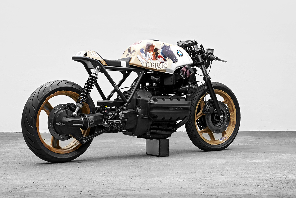 Double Vision Customizing The Bmw K100 Two Ways Bike Exif