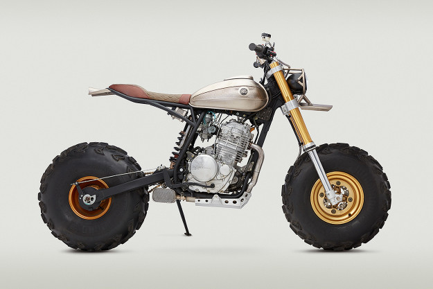 John Ryland's wild Honda XR650L is a big, fat middle finger to critics of the modern-day custom scene.