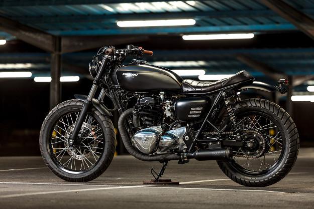 Spanish Style: Kawasaki W650 by Macco Motors;.