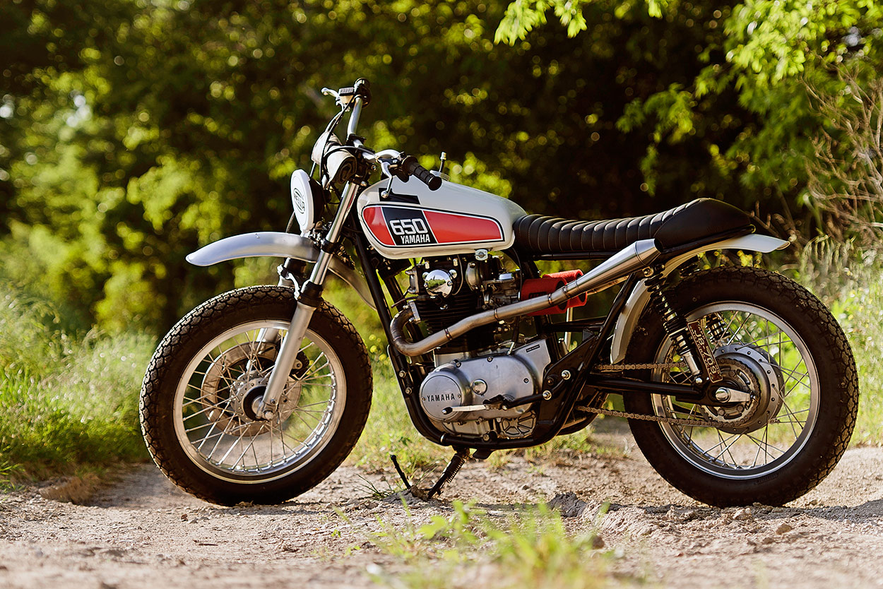 The Xs650 Scrambler We Wish Yamaha Had Made Bike Exif Wiring Harness Routing Full Size