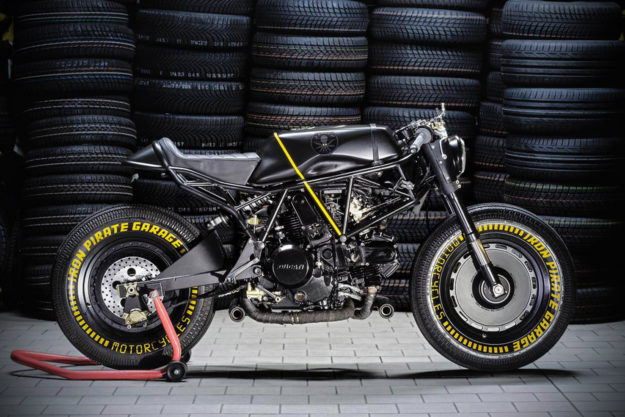 Ducati 750 SS customized by Iron Pirate Garage