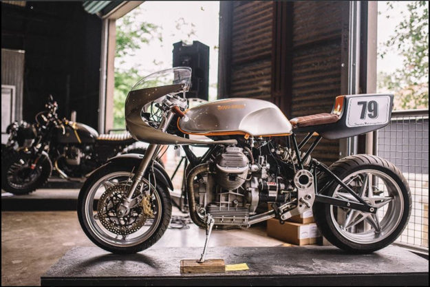Moto Guzzi by Stasis Motorcycles