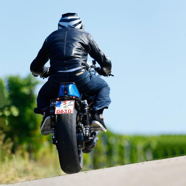 The Real Deal: Radical Guzzi's 130-horsepower cafe racer