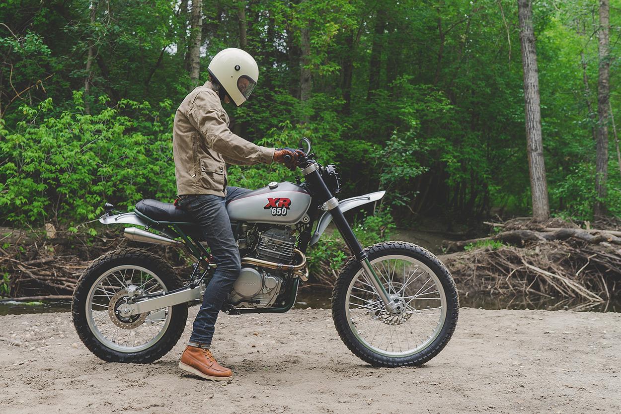 A Pukka Scrambler Federal Moto S Honda Xr650l Bike Exif