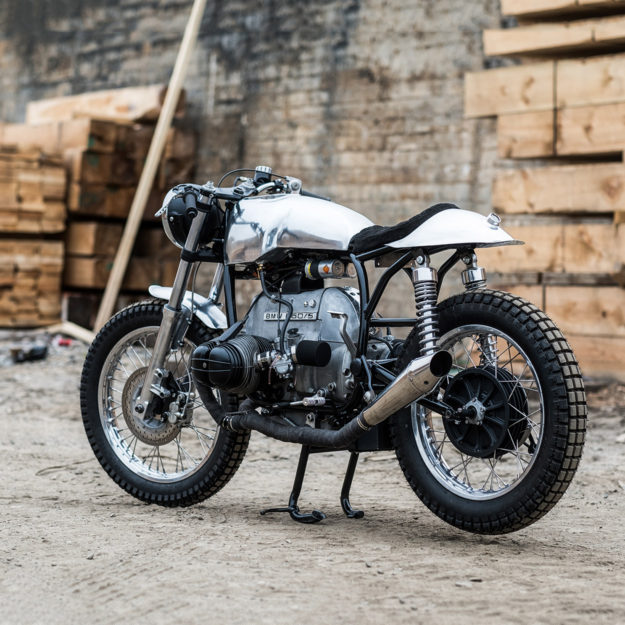 under the radar tim harney 39 s bmw r60 5 cafe racer bike exif. Black Bedroom Furniture Sets. Home Design Ideas