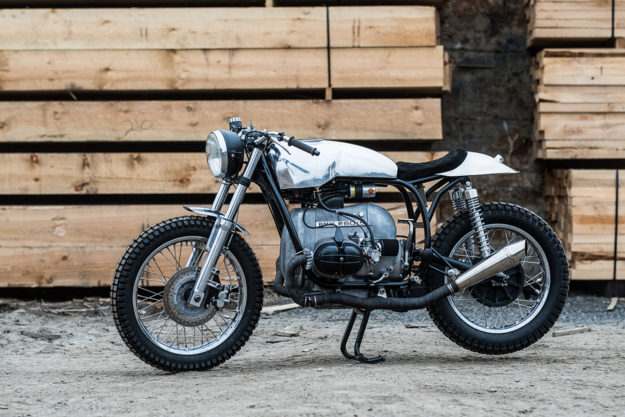 Under The Radar Tim Harneys Minimalist BMW Cafe Racer