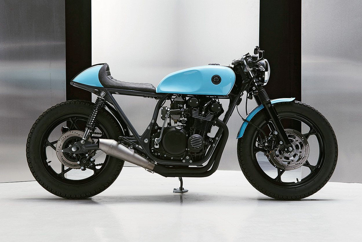 Favori Mixing It Up: A Suzuki GS 550 cafe racer from Poland | Bike EXIF NY59