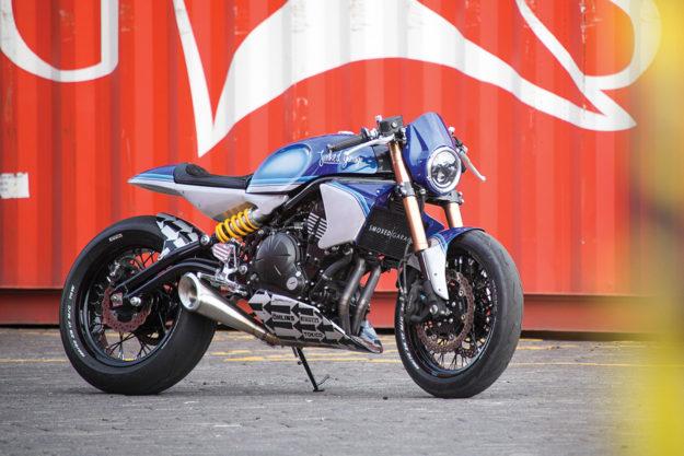 Kawasaki Ninja 650 by Smoked Garage