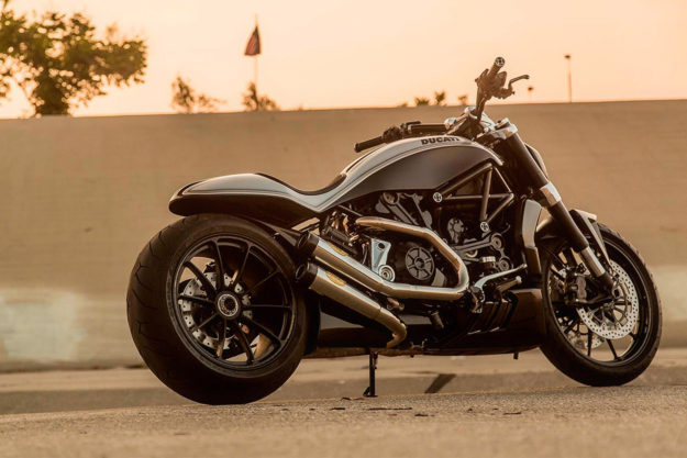 Custom Ducati XDiavel by Roland Sands Design
