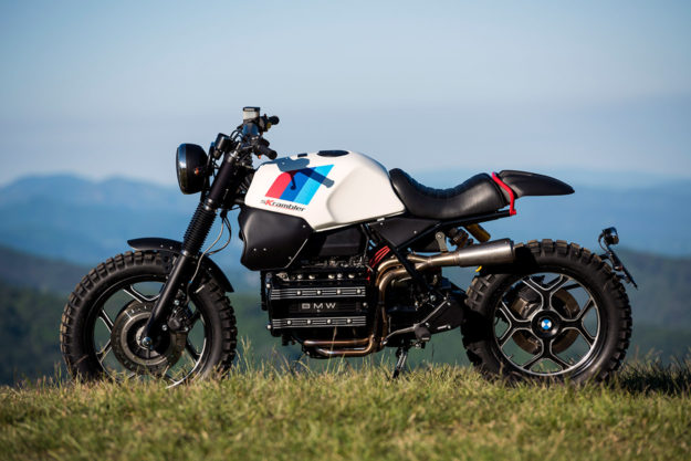 now you can even turn a bmw k100 into a scrambler bike exif. Black Bedroom Furniture Sets. Home Design Ideas