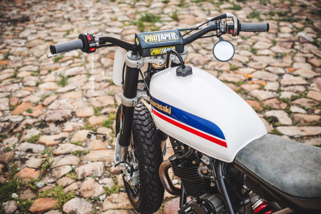 Next time you visit Cape Town, you can hire this CCM 664 street tracker from Wolf Moto.