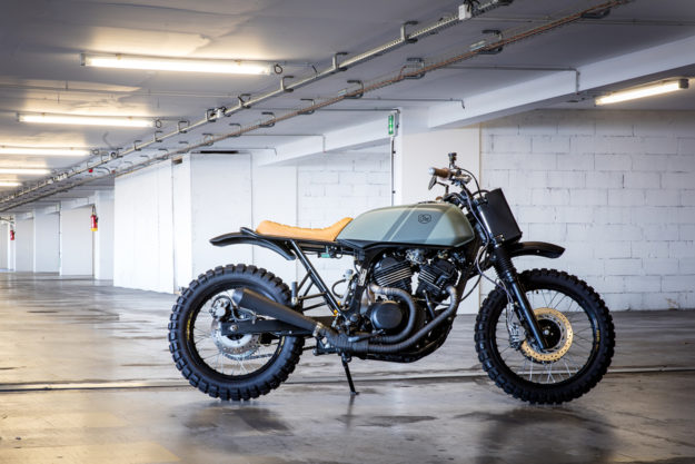 Custom Honda Transalp by Cafe Racer Dreams