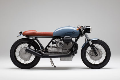 Labor of love: A Guzzi custom build