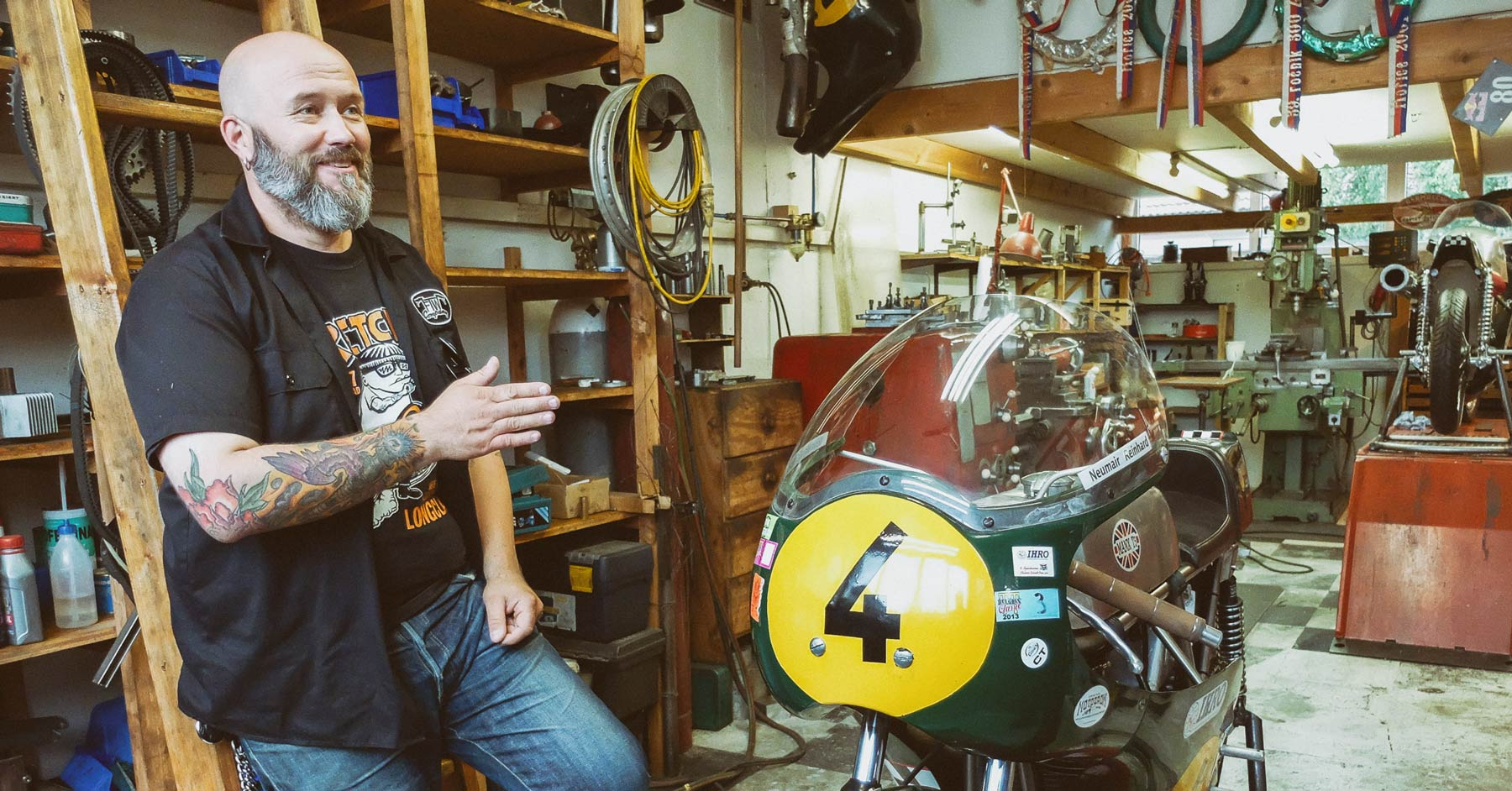 Behind the scenes with the BMW R nineT designers