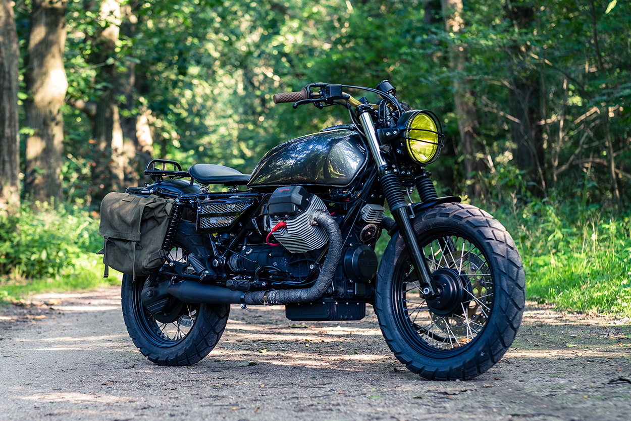 A Moto Guzzi California Built for Stylish Adventures